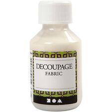 Decoupage Varnish, Fabrics  (E Box 16)