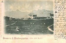 Gaisbergspitze,Near Salzburg,Austria,View of Plateau,Souvenor Cancellation,1898