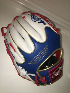 "NEW Rawlings PRO204W-2SRW WING TIP RHT Heart Hide Baseball Glove 11.5"" EXCLUSIVE"
