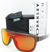 a49cde613e7 NEW Oakley Crossrange Shield sunglasses Grey Prizm Ruby 9387-1331 red  AUTHENTIC