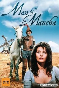 Man Of La Mancha DVD Sophia Lauren New and Sealed Australia All Regions