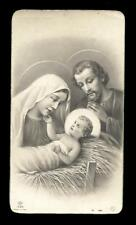 "santino-holy card ""ediz.NB n.1396 NATIVITA'"