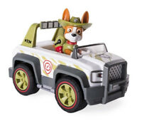 Original Paw Patrol Tracker Cruiser Fellfreund von Chase Sky Everest Zuma