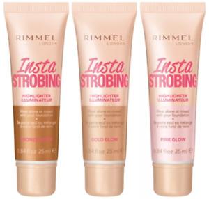 Rimmel Insta Strobing Highlighter Illuminateur 25ml Choose Your Shade