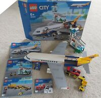 LEGO City Passenger Airplane 60262 Transporter Missing People + Suitcases Boxed