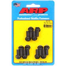 """ARP Exhaust Header Bolt Kit 100-1201; 3/8""""-16 Black Oxide 12pt for Chevy SBC"""