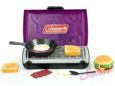 """Purple Coleman® Camp Stove and Food Set for 18"""" American Girl Dolls"""