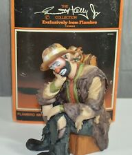 Emmett Kelly Jr. The Thinker Limited Edition Signature Collection 10267 Of 15000