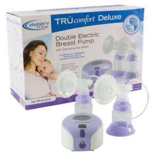 Viverity™ TRUcomfort Deluxe Double Breast Pump ~ NEW