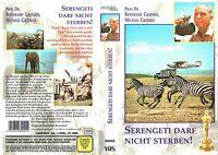 (VHS) Serengeti darf nicht sterben - deutsche Kinodokumentation (1959)