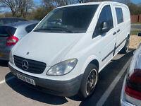 Mercedes Vito 109 CDI sWB SPARES OR REPAIRS EXPORT NO MOT mot fail