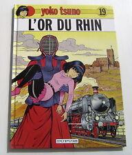 YOKO TSUNO . 19 . L'or du Rhin . LELOUP . BD EO DUPUIS