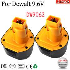 DW9062 For DeWalt 9.6V Xr Battery DW9061 DE9062 DE9036 Cordless Power Tool 2PACK