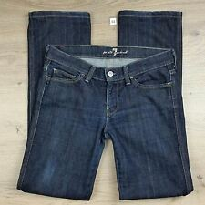 7 for All Mankind Colette Straight Leg Size 27 Women's Jeans W30 L30.5 (D2)
