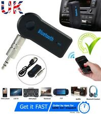 Bluetooth Aux Car Wireless Usb Transmitter Fm Mp3 Audio Kit Receiver Adapter Uk