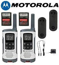 Motorola Talkabout T260 Walkie Talkie Set 25 Mile Two Way NOAA Radio
