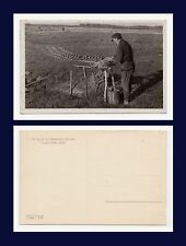 New listing German Occupation Of Russian Territory Ww Ii Real Photo Forming Bricks For Oven