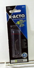 """X-Acto~X-210~#10 General Purpose Blades~5-Pack~Hobby Tool~MIB~For""""A""""Handle Knife"""