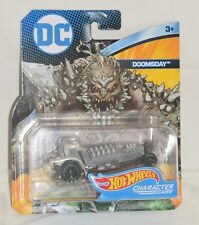 HOT WHEELS DC DOOMSDAY CHARACTER CAR MINT ON CARD