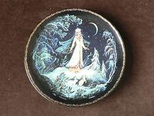 Kholui Art Studios Russian Plate, The Snowmaiden Snegurochka