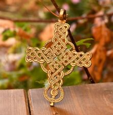 for mom dad sister brother large cross pendant religious Gift ideas