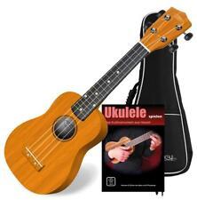 Ukulele Guitare Hawaien Instrumente a Cordes Sopran Set Housse 4 Corde Nylon