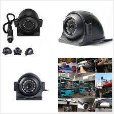 4 Pin DC12-24V Car Truck RV Motorhome Side View CCD HD Camera 12 IR Night Vision