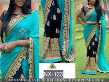 Indian Bollywood lehenga Designer Pakistani Ethnic Party Wear Saree Sari