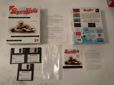 Superkarts SIERRA 3.5 3 1/2 floppy disk/disquettes PC Big box FR