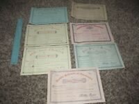 Lot of 1890s Rochester New York School Promotion Documents
