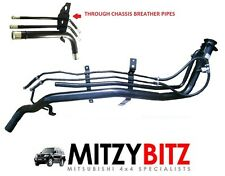 MITSUBISHI PAJERO SHOGUN MK3 3.2 DID FUEL FILLER NECK PIPE & BREATHER PIPES