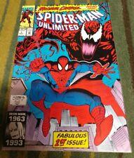 Spider-Man Unlimited 1, Maximum Carnage, 1st Shriek, Marvel Comics, 1993