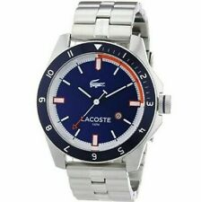 NIB Lacoste Men's Watch XL Analogue Quartz Stainless Steel 2010701