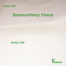 Hemp/Bamboo Fleece Fabric, by the yard