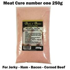 Meat Cure Salt #1 (6.25%) -250g Jerky Ham & bacon, Insta-cure, pink salt, Curing