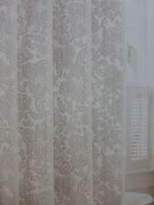 "Tommy Bahama Island Memory White & Green Fabric Shower Curtain 72"" x 72"" NIP"