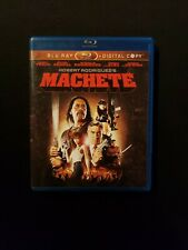 Machete Blu ray Only No Digital Copy, Lot C1.