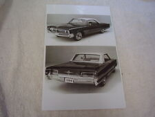 1966 CHRYSLER  300 HARDTOP FRONT AN REAR VIEW  11 X 17  PHOTO  PICTURE