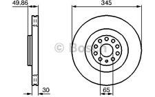 BOSCH Disco de freno (x2) Antes 345mm ventilado SEAT LEON 0 986 479 204