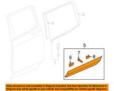 HONDA OEM Ridgeline Rear Door Body Side-Lower Molding Trim Right 75313T6ZA01