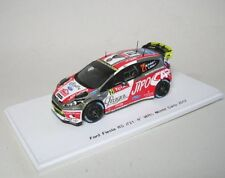 Ford FIESTA rs wrc No. 21 9th rally monte carlo 2012