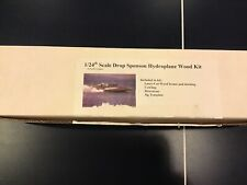 "1/24 Pacific Graphics Drop Sponson Hydroplane ""Miss Madison� Laser Cut Wood Kit"
