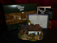 LILLIPUT LANE Scotch Mist L2159 Model Thatched Cottage Oban Scotland Boxed+deeds