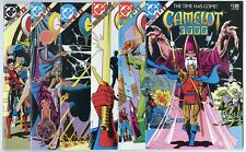 Camelot #1 - 12  Complete Set  avg. NM 9.4 white pages  DC  1982  No Reserve