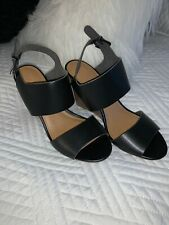 Old Navy Women Black Shoes Sandals Wedges US 9