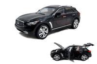 1/18 1:18 Scale Infiniti QX70 Black Diecast Model Car Paudimodel
