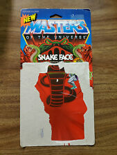 New ListingVintage Masters of the Universe Snake Face Card Back - Motu, He-Man, Rare 1980's