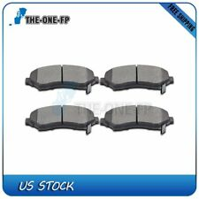 Front Low Dust Ceramic Discs Brake Pads For 2012-16 Chrysler Town &amp Country