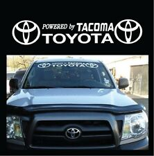 """CSK POWERED BY TOYOTA TACOMA 42"""" STICKER VINYL DECAL CAR WINDSHIELD BANNER"""