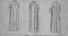 Antique STANDARD FASHION CO SEWING PATTERN #7952~INFANT Dress OSZ Circa 1900
